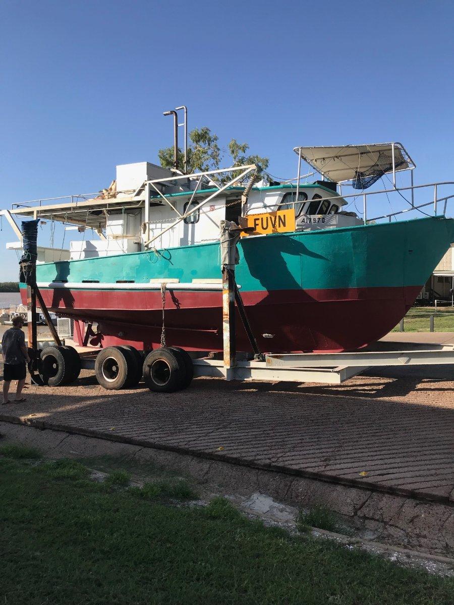 Steel Commrcial fishing Empress Lane:LAUNCHING KARUMBA