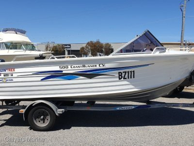 Quintrex 500 Coast Runner CV Runabout | Yamaha 90AETO Two Stroke