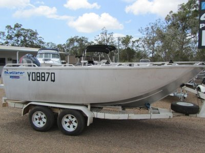 Bluewater Sportsfishing 490 Plate Tiller E-Tec Tiller