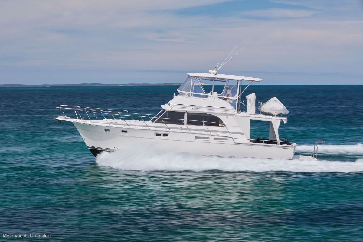 Caribbean 45 Flybridge Cruiser **** AVAILABLE NOW AND READY FOR THE SEASON! ****