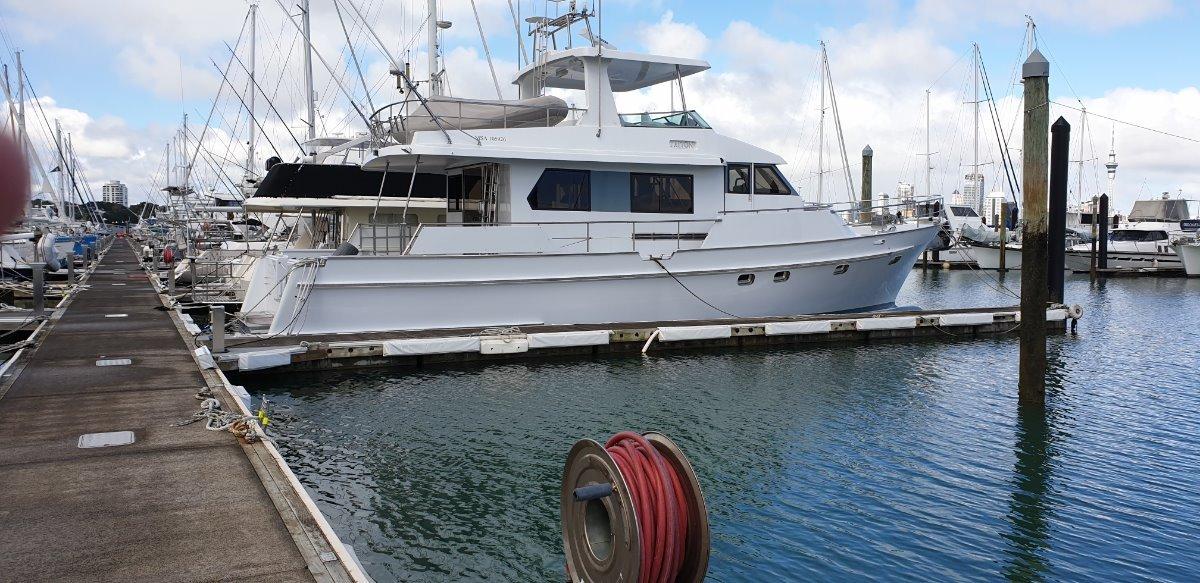 Ganley 17.5 Motor Yacht:profile
