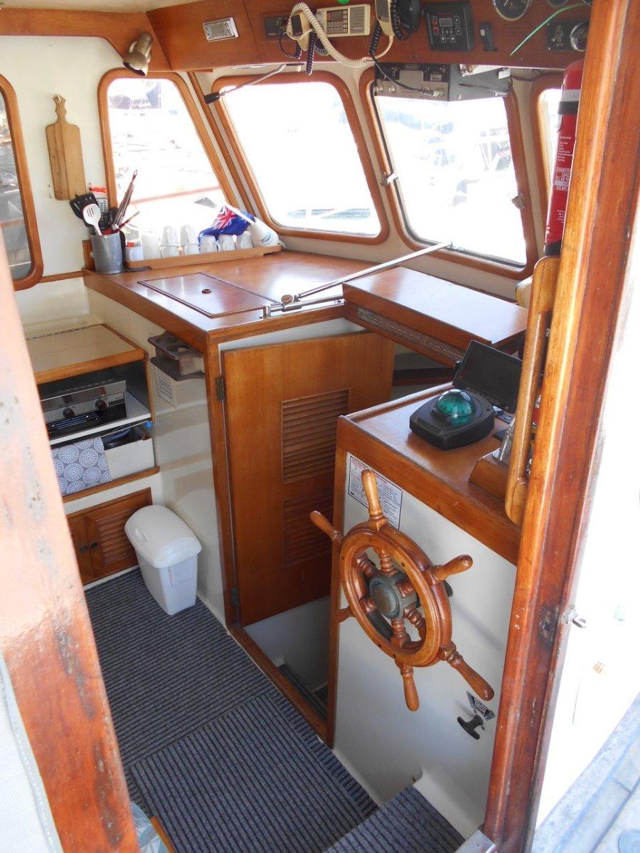 Clipper 34 Mk III Flybridge Cruiser