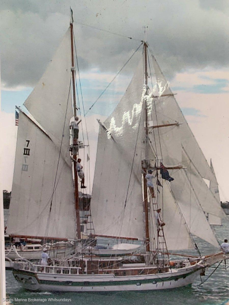 Samson Sea Strutter Brigantine modified from new build