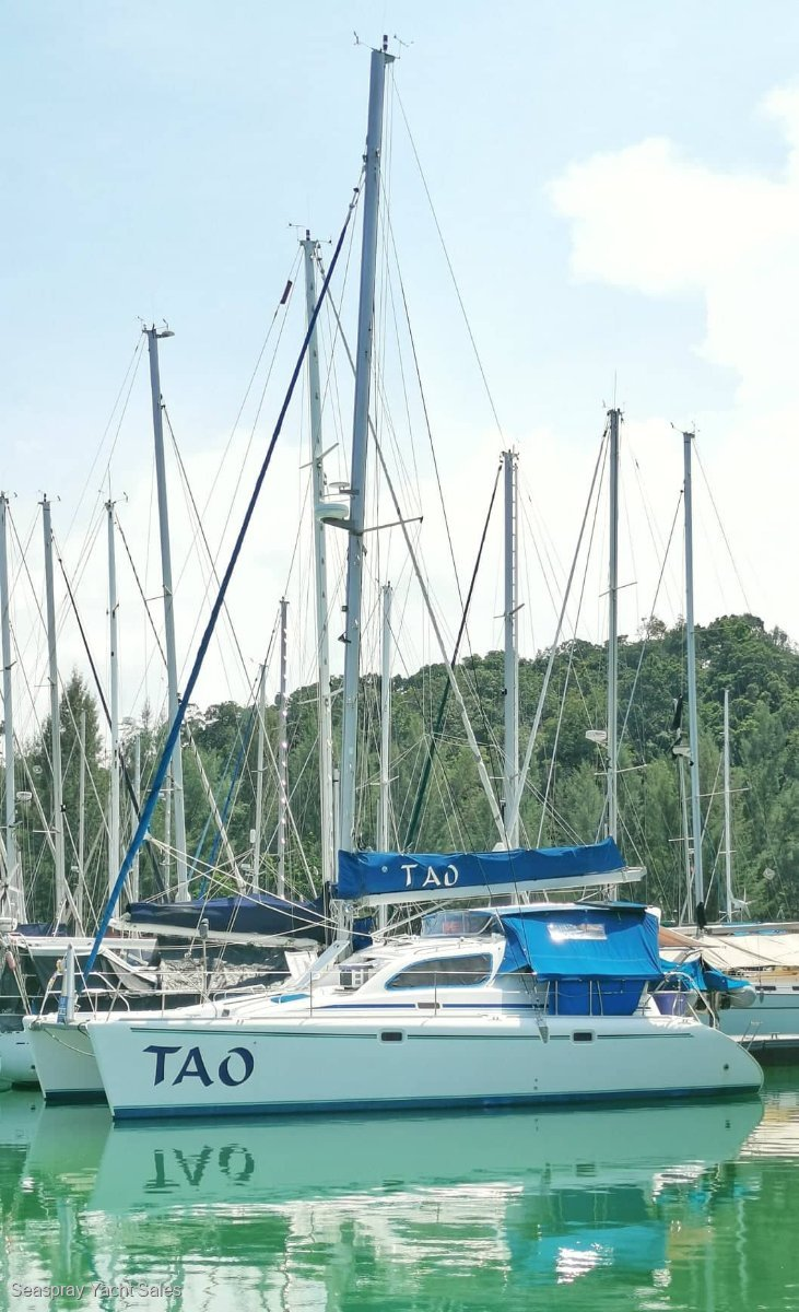 Leopard Catamarans 38 for Sale in Langkawi:Leopard 38 for sale in Rebak Marina Langkawi