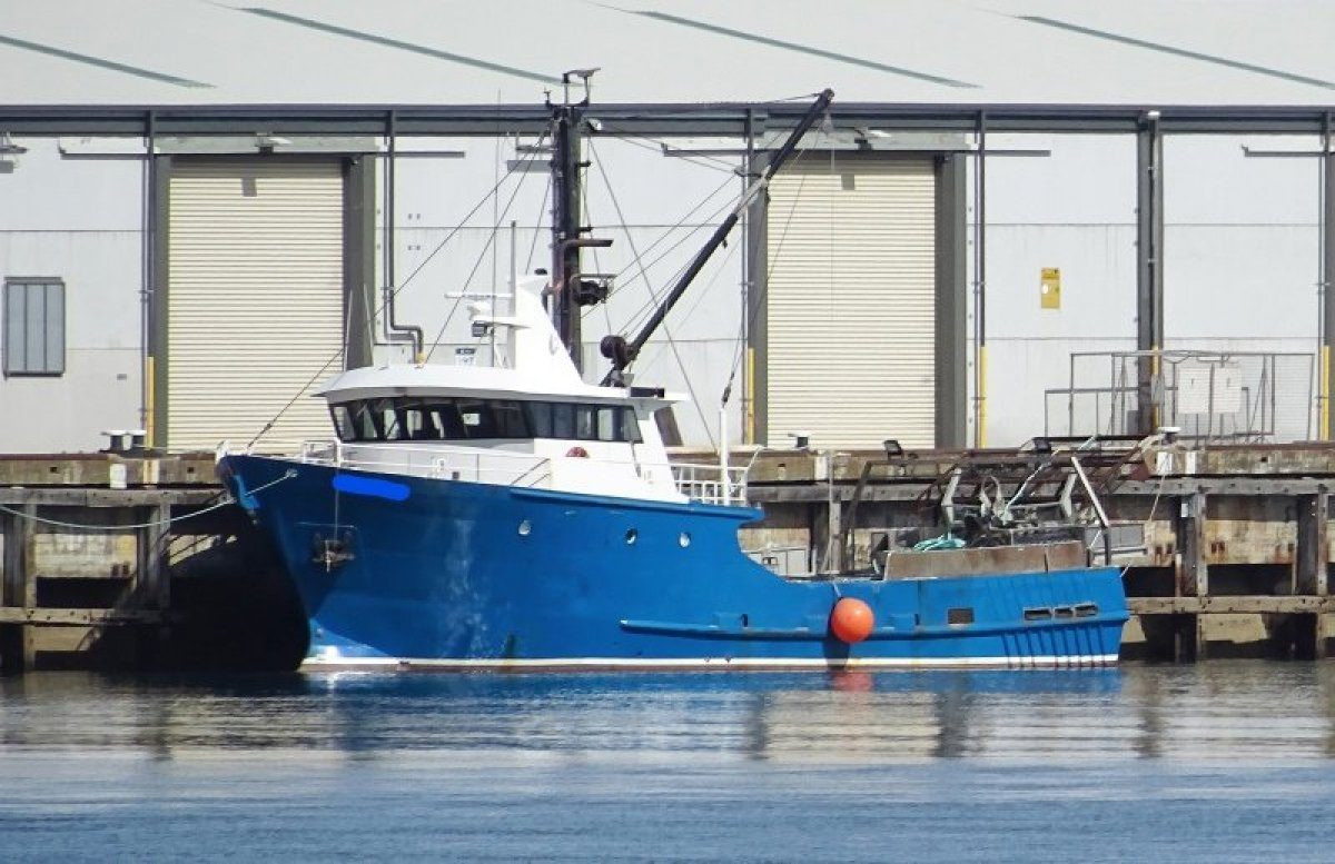 Adelaide Ship Construction 21.73m Steel Fishing Vessel