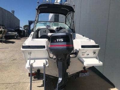Haines Hunter 535 Profish Powered by Yamaha 115HP salt water series $42500.