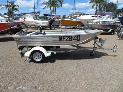Horizon Aluminium Boats 330 VBP
