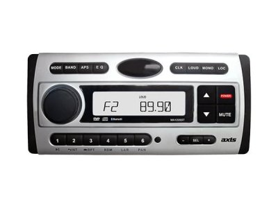 AXIS MA1205BT WATERTIGHT DVD / BLUETOOTH STEREO UNIT