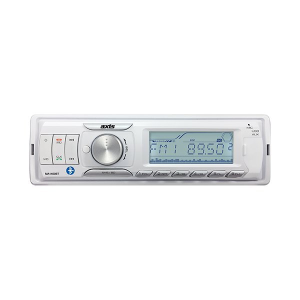 AXIS WATERTIGHT MA1400BT BLUETOOTH STEREO - ONLY $ 110.00