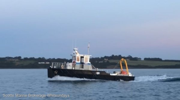 Custom TUG WORK BOAT 11.98 M