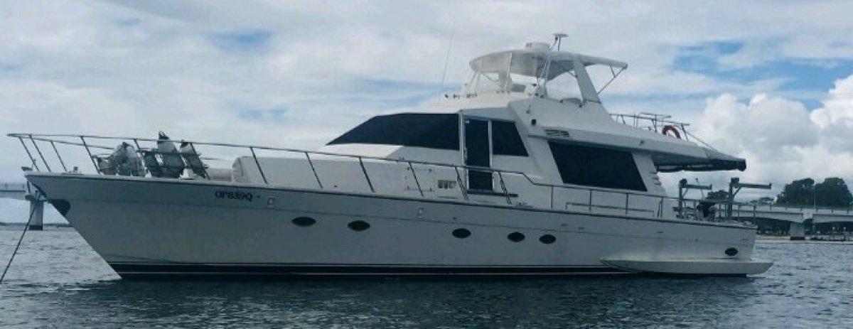 Aviva International Motoryachts 580 Pilothouse