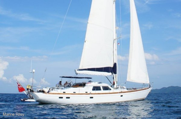 Ron Hollands personal cruising yacht