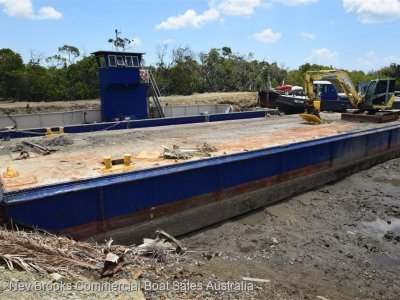 24m Flat Top Barge