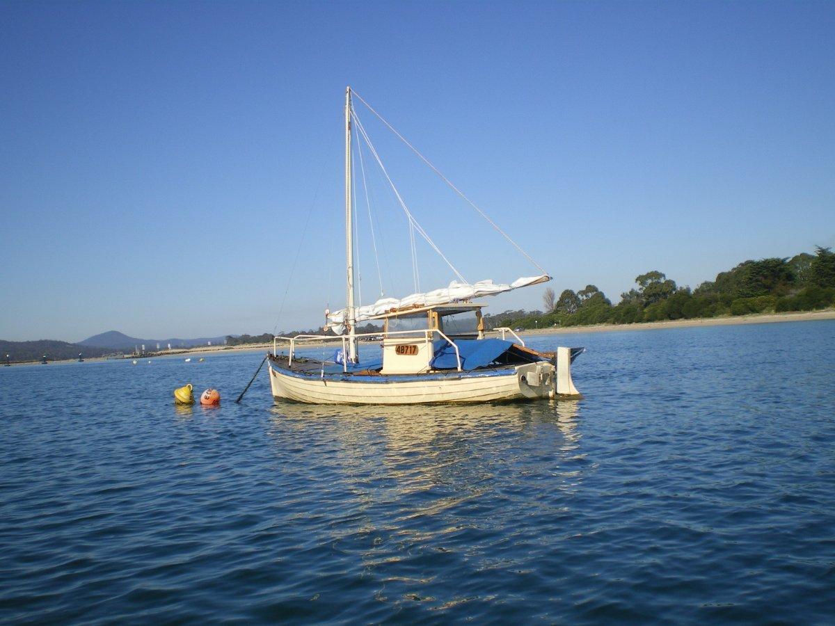 Shipwright Built Tamar Cod Boat