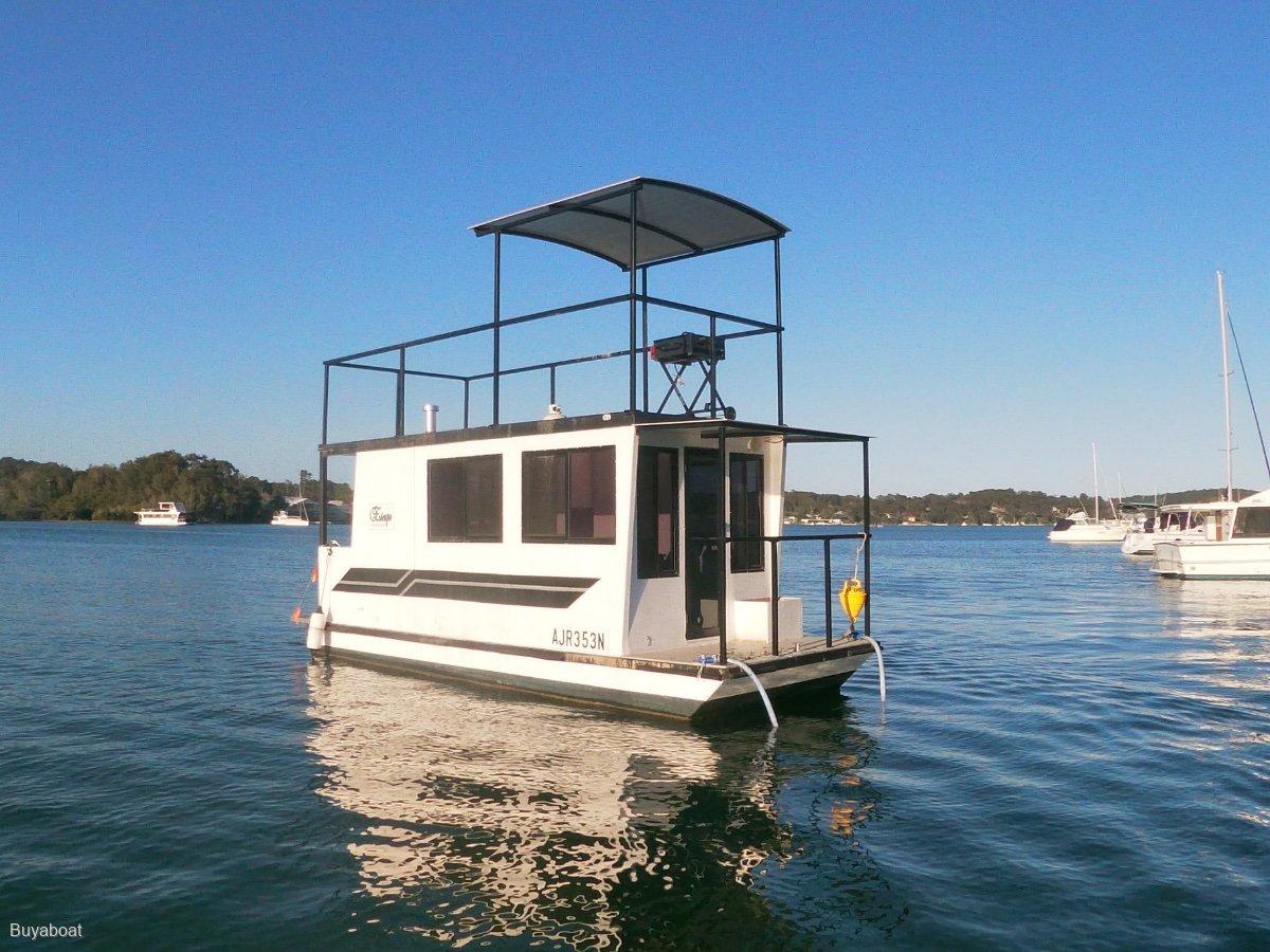 23 Custom Houseboat