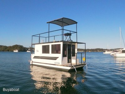 23 Custom Houseboat