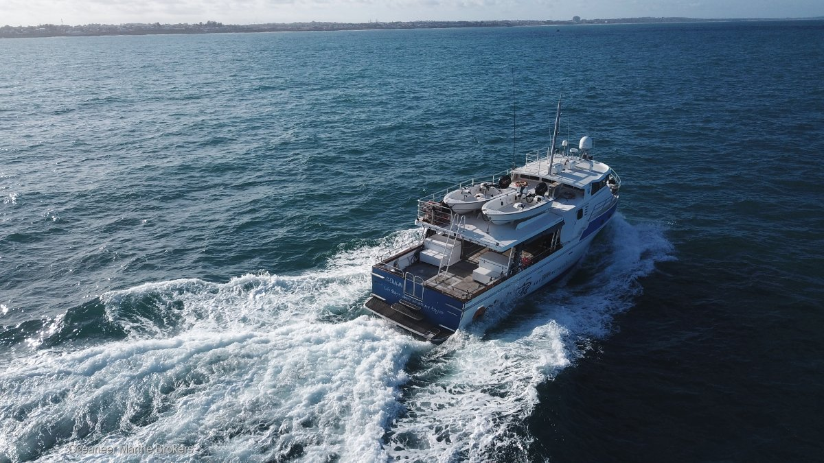 Curran 19.3 Expedition Vessel + 4 zone FTOL Available