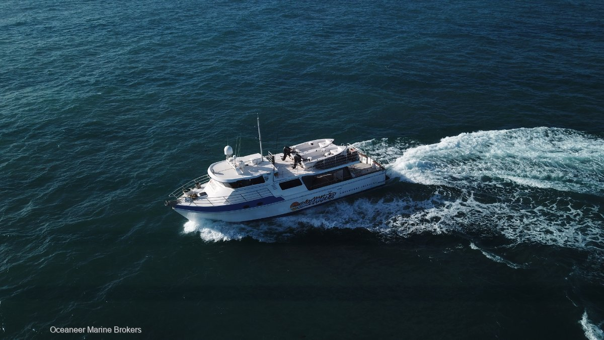 Curran 19.3 Expedition Vessel with 4 zone FTOL