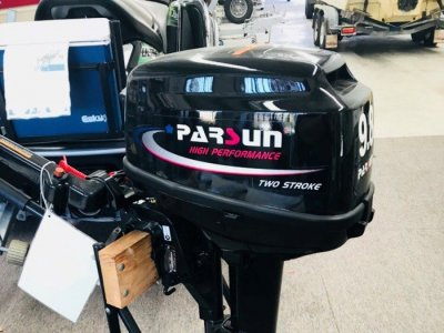 NEW Parsun 9.8BMS 2-Stroke Tiller Control Outboard