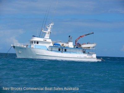 Fishing / Diving Steel Charter Vessel