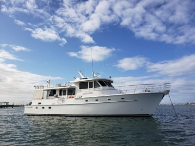 Caterson 63 Pilothouse Yacht Fisher0