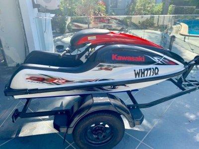 Kawasaki Sx-r 800 RARE FIND - PLUS TRAILER $7,000