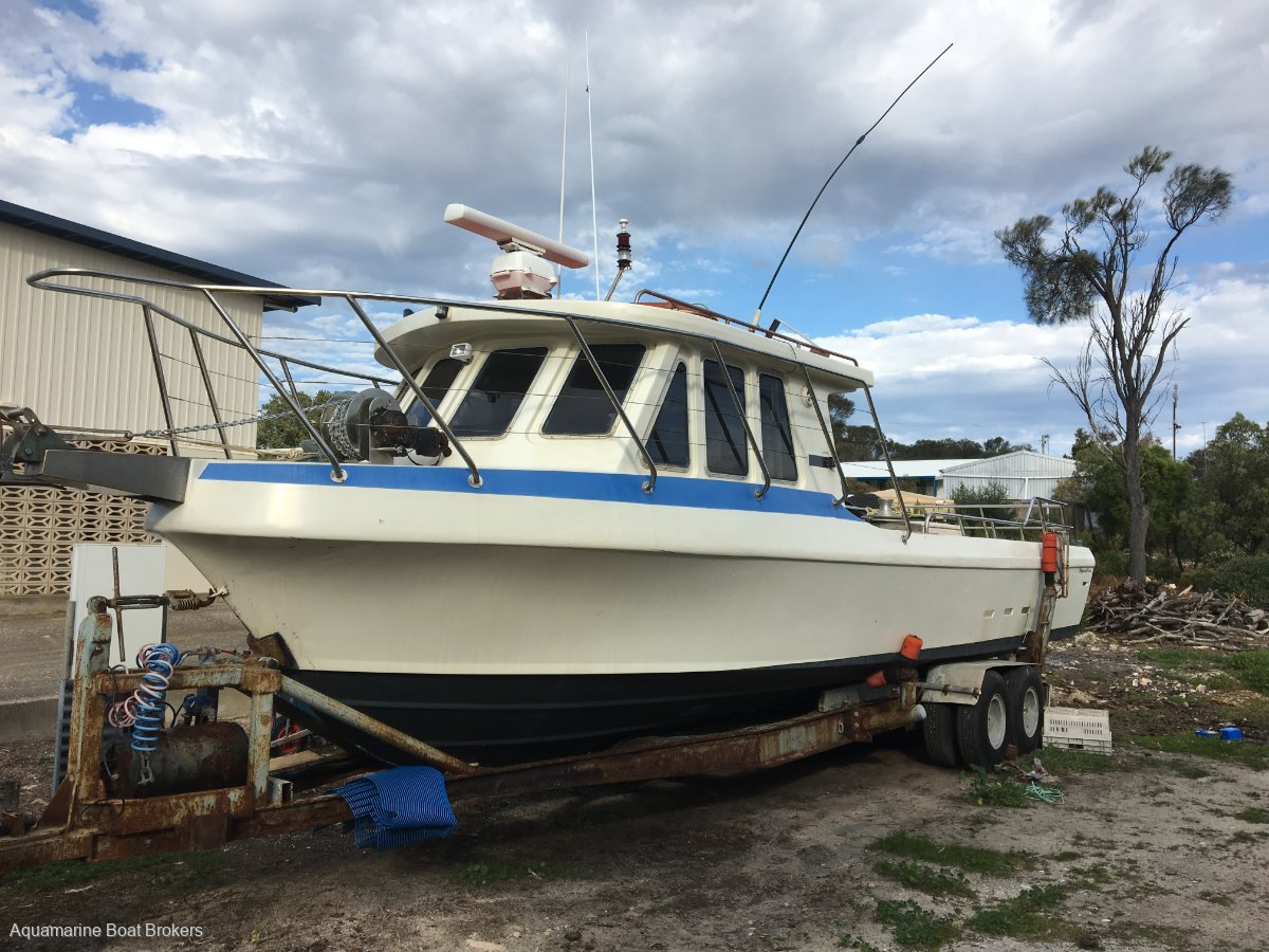 Skippercraft 34 Fishing & Charter Vessel