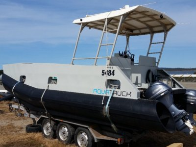 Aquatruck HDPE 7.5m Work Vessel