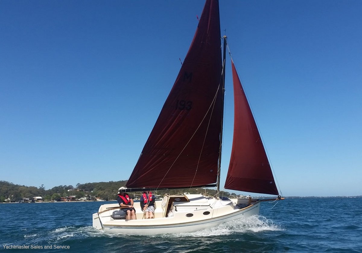 New Bluewater Cruising Yachts Cygnet 20 - Classic Gaff Rigged Trailer Sailer