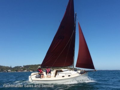 Bluewater Cruising Yachts Cygnet 20 - Classic Gaff Rigged Trailer Sailer