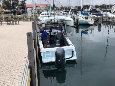 Pacemaker Striker 210 Offshore The boat has had a pod built on making it 23' OA