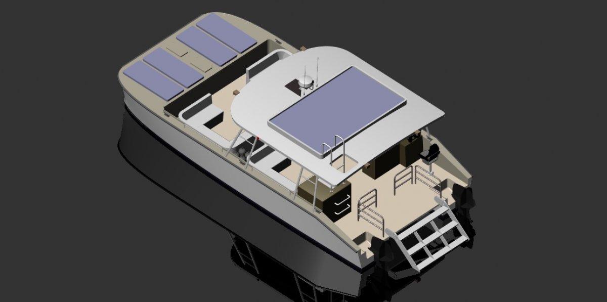 10m Tourist Catamaran