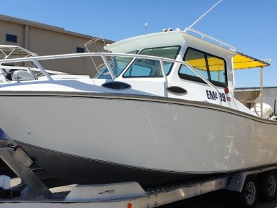 Alucraft SPORTS CABIN PLATE ALLOY FISHING BOAT FOR SALE