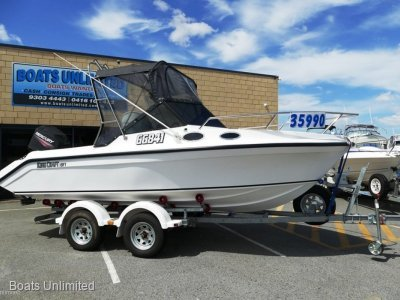 Kingcraft FAMILY BOAT FOR SALE, SOFT RIDING, VERSATILE- Click for more info...