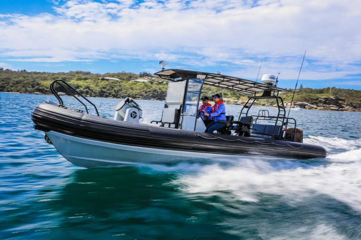 Aquatruck HDPE 8.3m RHIB UNIQUE OPPORTUNITY, DEMO VESSEL, EXCEPTIONAL!