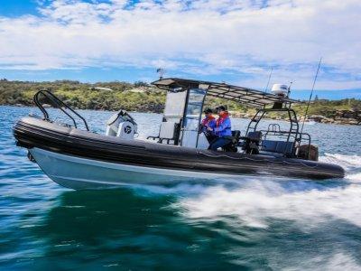 Aquatruck HDPE 8.3m RHIB UNIQUE OPPORTUNITY, DEMO VESSEL, EXCEPTIONAL!