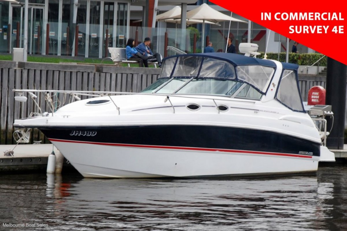 Mustang 3200LE Sportscruiser - IN COMMERCIAL SURVEY 4E