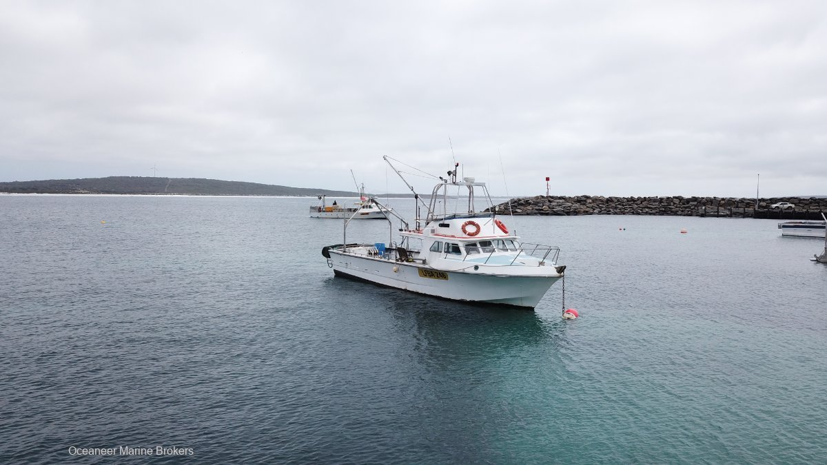 Harriscraft 45 Commercial Fishing Vessel