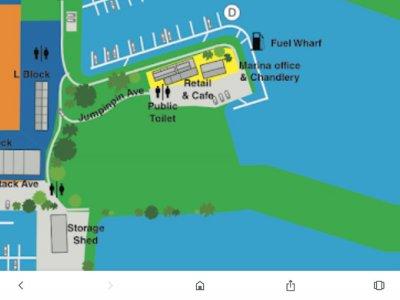 12 meter Berth for Sale at Horizon Shores Marina