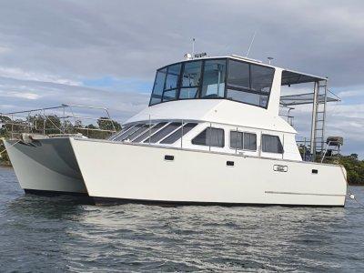 Brady 10.4 Metre Power Catamaran Leopard