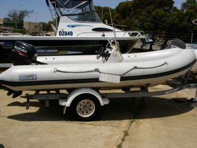 Aristocraft Rigid inflatable 520 Suzuki power