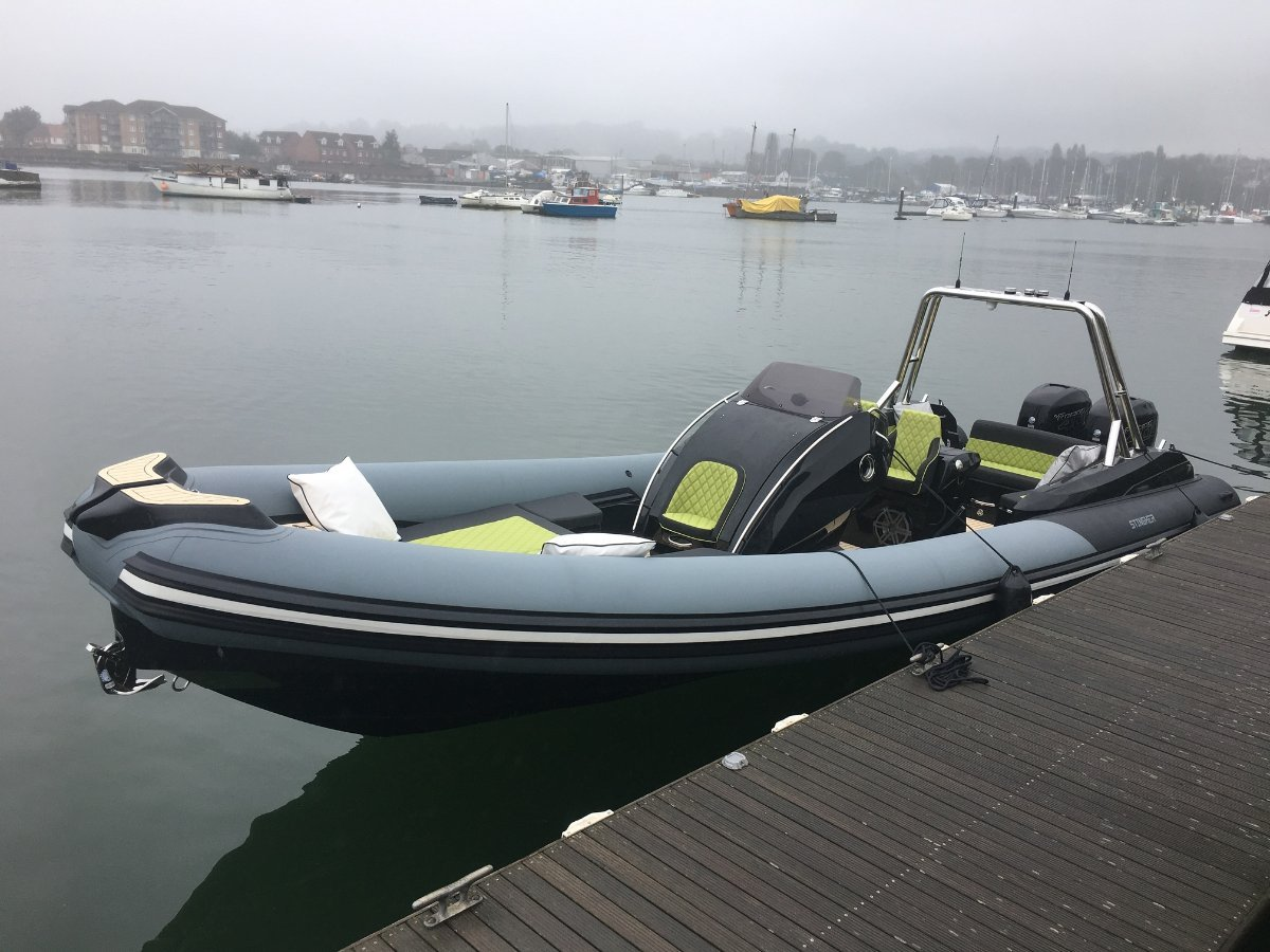 Italboats Stingher 32GT Luxury Rigid Inflatable Boat