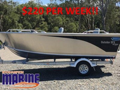 Stessco Outsider SFX520 B, M, T PACKAGE FROM ROCKHAMPTON MARINE!!!!
