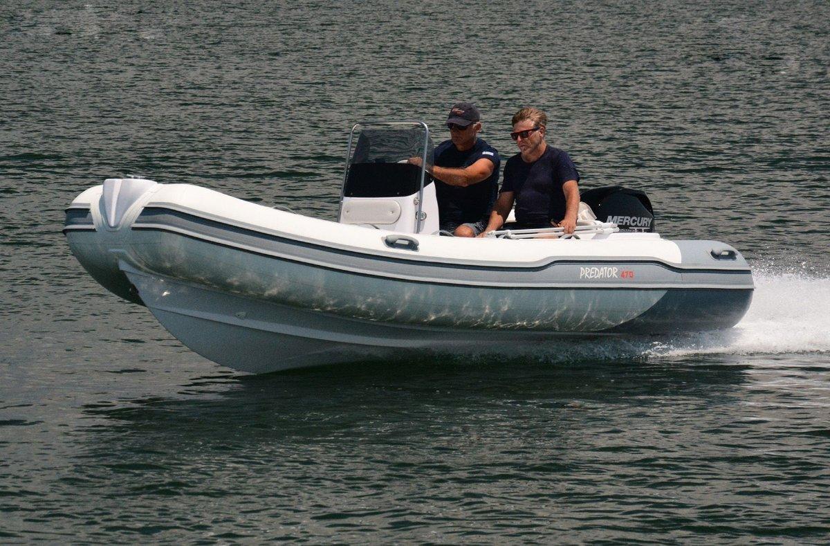 Italboats Predator 470 Luxury Rigid Inflatable Boat