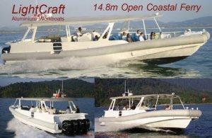 14.8m Open Coastal Ferry