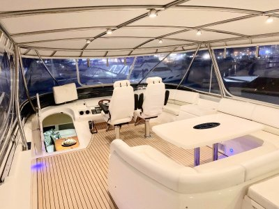 Princess 72 Motor Yacht Quality Options Add Ease of Operation and Comfort