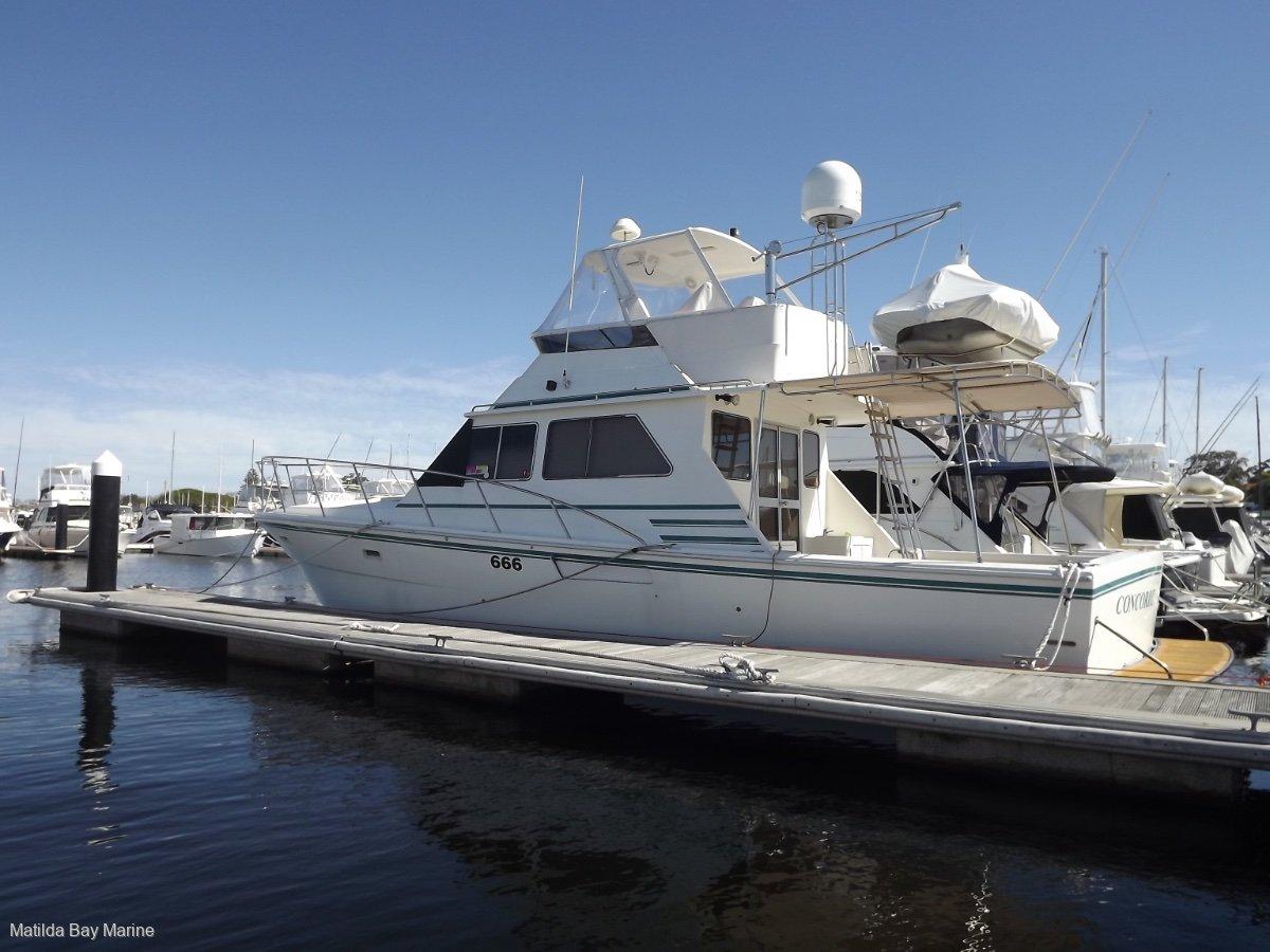 Precision 45 Flybridge Cruiser Randell Design