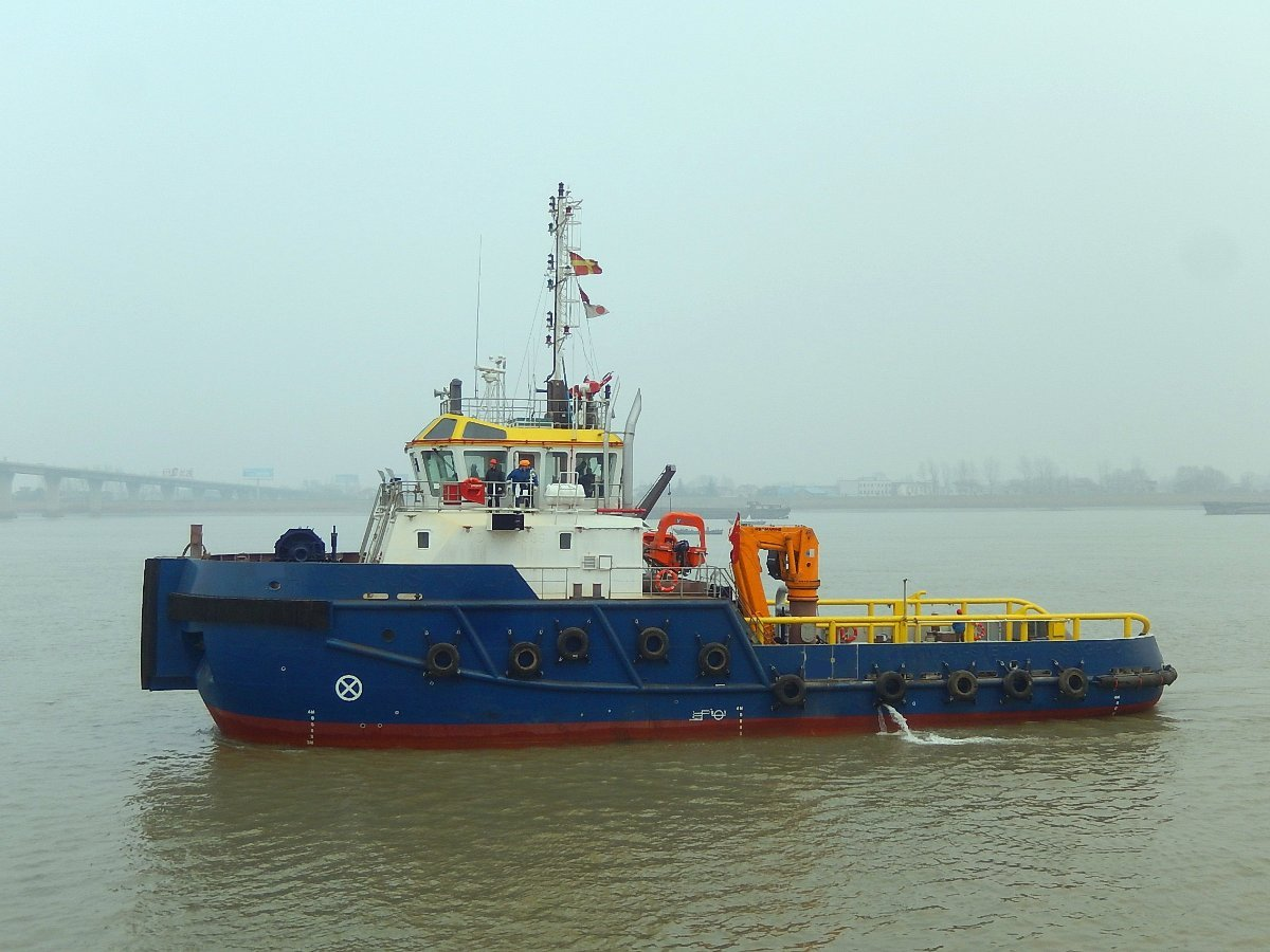Australia Marine Services AMS Tugs and Barges 34m AHTS Custom