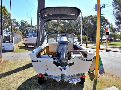 Stacer 400 Runabout