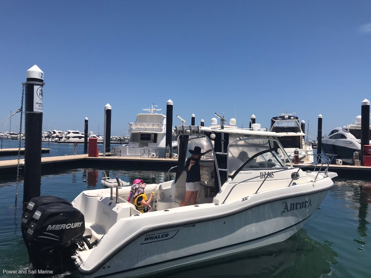 Boston Whaler 255 Conquest Bow thruster, Verados and its been loved!
